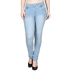 Ajaero Slim Fit Denim Lycra Women Jeans (32)