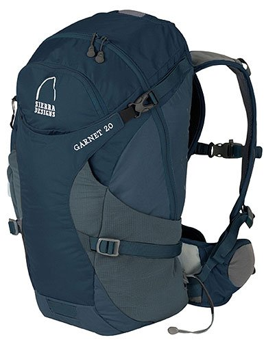 Sierra Designs Garnet 20 Day Pack (Small/Medium, Mirage Grey)