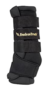 Back on Track 2-Piece 15.7 by 15.7-Inch Therapeutic Horse Royal Quick Wrap, Medium