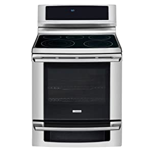 "Electrolux EW30EF65GS Electrolux EW30EF65G 30"" Electric Freestanding Range with Wave-Touch® Controls a, Stainless Steel"