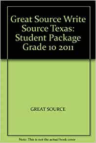 Texas Write Source Writing Grammar Grade 5 Teachers Edition