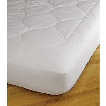 Dust Mite and Allergen Resistant Mattress Pad Rio Home Fashions 1//2-Inch Quilted Memory Foam Full