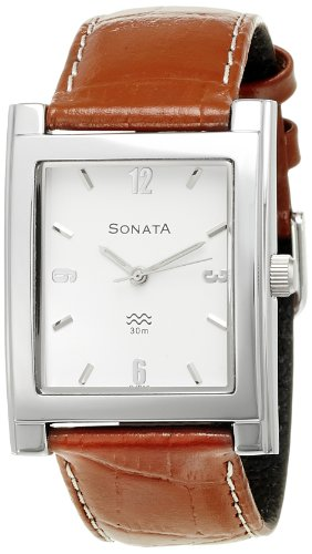 Sonata-Analog-White-Dial-Mens-Watch-NF7925SL03A