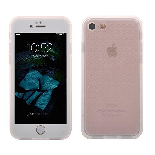 iphone 7 ケース【ELTD】iphone7 ケース,iphone7 防水ケース, iphone 7 専用防水ケース 信頼の防水機能 耐水・防塵・防雪・防滴ケース 本体長期保証付 水深1m防水テスト合格(ホワイト)
