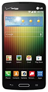 LG Lucid 3, Black 8GB (Verizon Wireless)