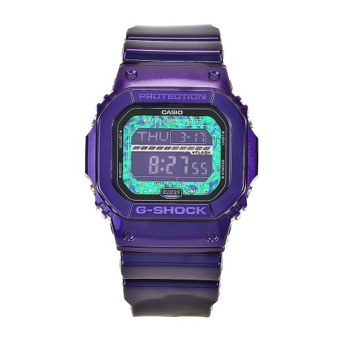 Casio Men's GLS5600KL-6 G-Shock Purple Digital Dial Chronograph Watch Reviews