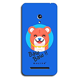 Mozine Happy Chow Chow printed mobile back cover for Asus zenphone go