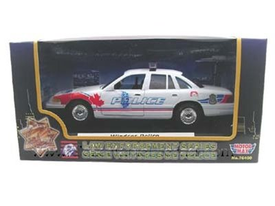 1998 Ford Crown Victoria Canada Windsor Police Department Car 1/24