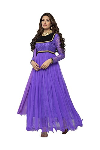 Suitsvilla Light Purple Latest Frock Style Anarkali Suits