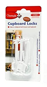 Clippasafe Cupboard Lock (6-Pack)