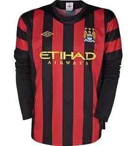 2011-12 Manchester City Away Long Sleeve Shirt