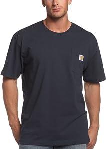 Carhartt Men's Big & Tall Workwear Pocket Short Sleeve T Shirt from Carhartt Sportswear - Mens
