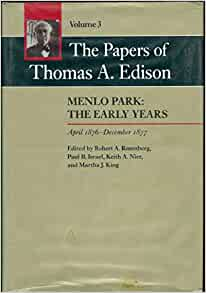 essays on thomas edison Free essay: thomas sold newspapers and candy to the passengers he also printed a weekly paper called the weekly herald he spent all of the money he earned.