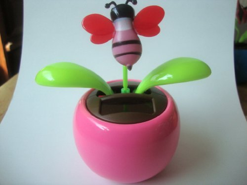 Solar Dancing Flower - Bee - 1