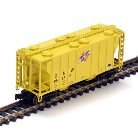 Athearn N Rtr Ps-2 2600 Covered Hopper Cnw/zito 1
