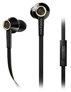 Philips Fidelio S2BK/28 In-Ear Headsets Earbuds - Black