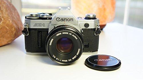 Canon AE-1 35mm Film Camera w/ 50mm 1:1.8 Lens (35 Mm Camera Film compare prices)