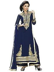 FashionableGeorgette Unstitched Plazo Style Dress Materials (V273-1004...