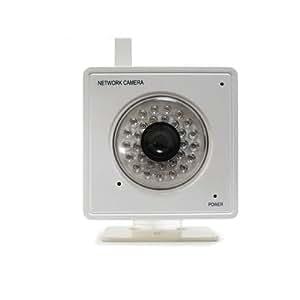 Tenvis MINI319w CCTV Caméra ip surveillance Wifi sans fil infrarouge 300000 Pixels Audio Résolutions: 640 × 480 320 × 240 Vue Mobile Webcam IR-CUT 4MM Caméra Blanc de GLOBAYEBUY