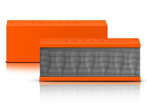 Photive Cyren Portable Wireless Bluetooth Speaker With Built In Speakerphone 8 Hour Rechargeable Battery - Orange