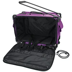 Tutto Machine On Wheels Case (21 x 13.25 x 12 Inches) - in your choice of colors from Tutto