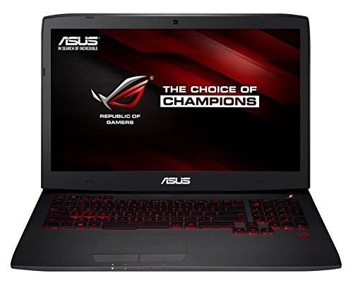 Asus ROG G751JY-T7331T 43,9 cm (17,3 Zoll mattes FHD) Notebook (Intel Core i7-4720HQ, 16GB RAM, 1TB HDD+ 512GB SSD, NVIDIA GeForce GTX 980M, Blu-ray, Win 10 Home) schwarz