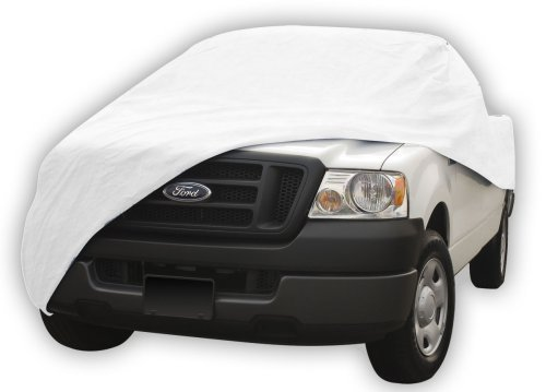 99.8% Sun Proof Truck Cover: Fits full-size dually long bed pickup w/crew cab