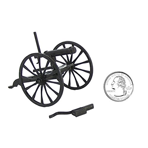 BMC Set of 2 Gatling Guns for 54mm Plastic Army Men 1:32 Figures