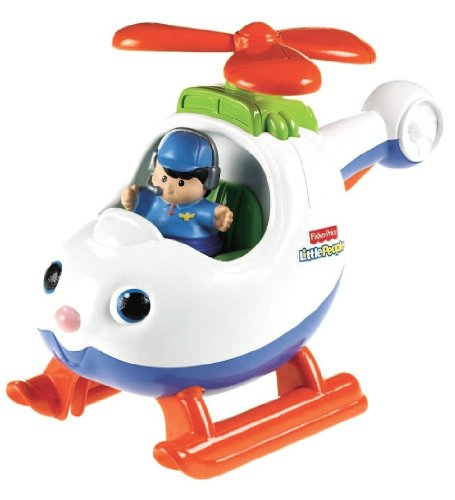 fisher price little people spin n 39 fly helicopter toys games toys play vehicles toy helicopters. Black Bedroom Furniture Sets. Home Design Ideas