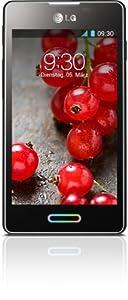 LG E460 Optimus L5 II Smartphone (10,2 cm (4 Zoll) Touchscreen, 1GHz, 512MB RAM, 5 Megapixel Kamera, Android 4.1) metallisch-schwarz