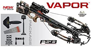 TenPoint C13004-7411 Vapor Crossbow with RangeMaster Pro Scope and (6) Pro V22 Carbon... by TenPoint
