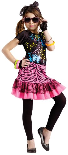 80's Pop Party Costume - Medium