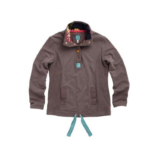 Joules Beachy Womens Sweatshirt - Brown - 16