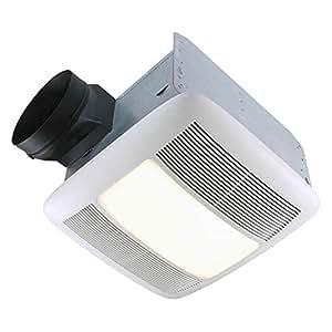 Nutone qtxen110flt energy star 110 cfm 6 for 8 kitchen exhaust fan
