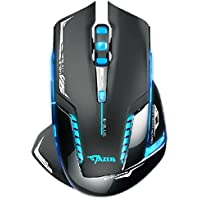 Kinghard E-3lue 6D Mazer II 2500 DPI Blue LED 2.4GHz Wireless Optical Gaming Game Mouse