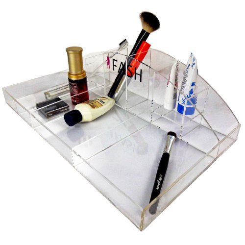 Cosmetic Organizers - 10 Compartment Tray in Acrylic