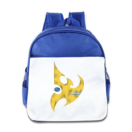 StarCraft II Protoss Vintage Logo Children School Backpack