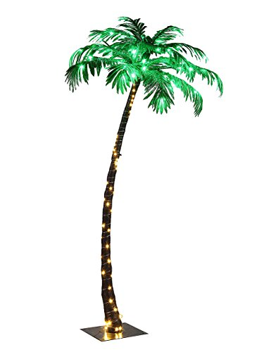 Lightshare Lighted Palm Tree
