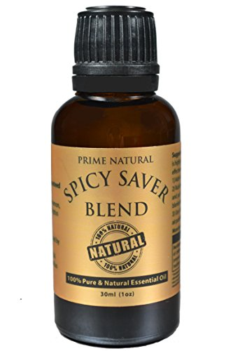 Spicy Saver Essential Oil Blend 30ml / 1oz - Healthy Immunity - Protective Blend - Natural Pure and Undiluted Best for Aromatherapy, Scents & Diffuser Sinus, Dry Nose, Allergy & Respiratory Problems