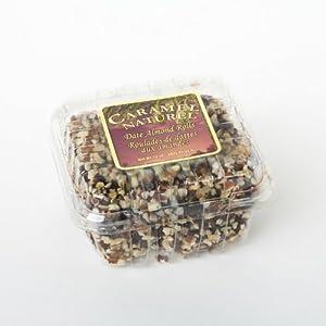12oz Caramel Naturel Date Almond Rolls (Pack of 4)