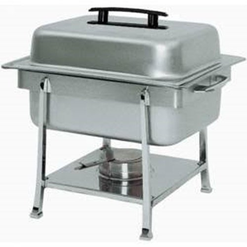 Update International (CC-2P) 4 Qt Stainless Steel Rectangular Continental Chafer