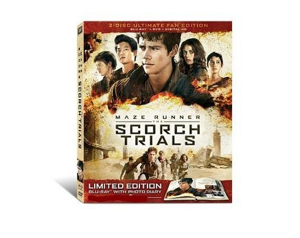 Maze Runner: The Scorch Trials - 2 Disc Ultimate Fan Edition - Limited Edition Blu Ray with Photo Diary - 24 Page Exclusive Prequel Comic Book