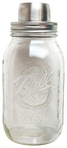 The Mason Shaker, Clear & Silver (Mason Jars Quidsi compare prices)