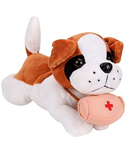 Tickles Lovely Sleeping Dog Stuffed Soft Plush Toy Love Girl
