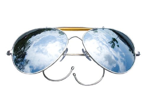 Mirror Lenses - Us Air Force Style Aviator Sunglasses