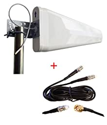 Cradlepoint COR IBR600 IBR650 Wireless Router External wide band Log Periodic Yagi Antenna