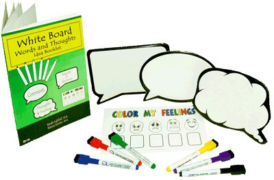 White Boards Words And Thoughts Activity Pack
