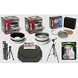 Nikon Coolpix P5100 and P5000 Digital Camera HD2 Professional Accessory Kit