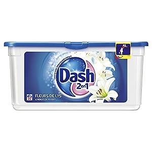 Dash - Lessive Liquide Eco-Doses - Fleurs de Lys & Perles de Rosée - 32 Doses