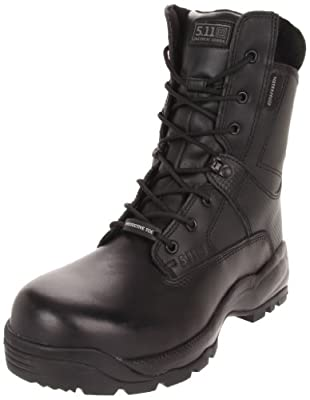 "5.11 Men's A.T.A.C. SHIELD 8"" Side Zip Certified Safety Toe Boot"